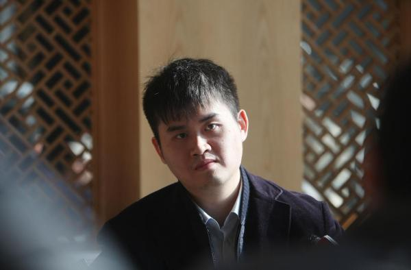 象棋第一高手王天一。视觉中国 图