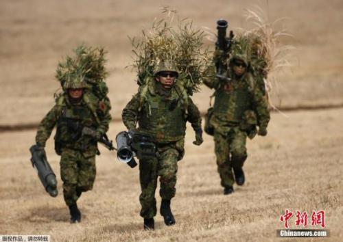 资料图:日本自卫队