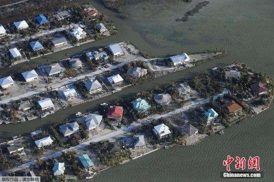 美国飓风灾后救援:派遣超2万名美军 出动5艘舰艇