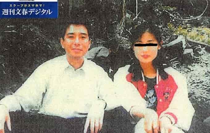 前原诚司与朝鲜美女合影