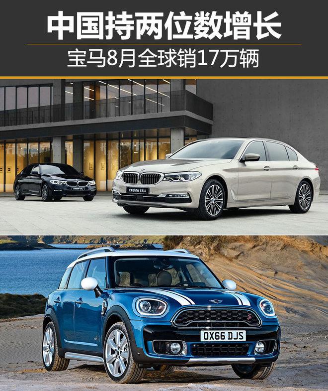 宝马8月全球售近17万 中国持两位数增长
