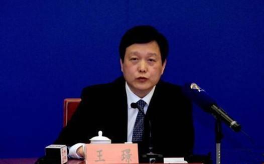 资料图:天津市教委主任王璟。 张道正 摄