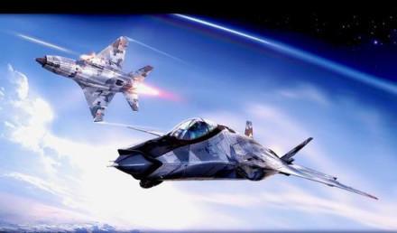 图:米格-41截击机编队想象图