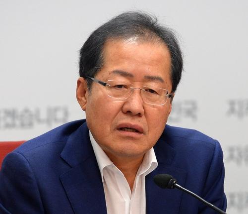 自由韩国党党代表洪准杓