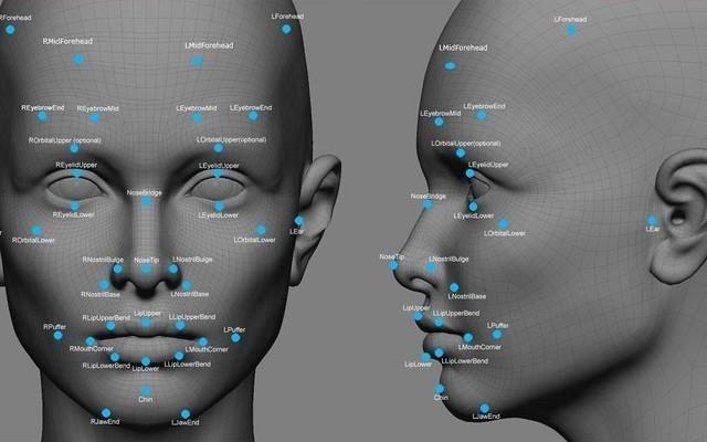 手机上的面部识别功能是通过前置相机以非接触的方式获取生物信息图像