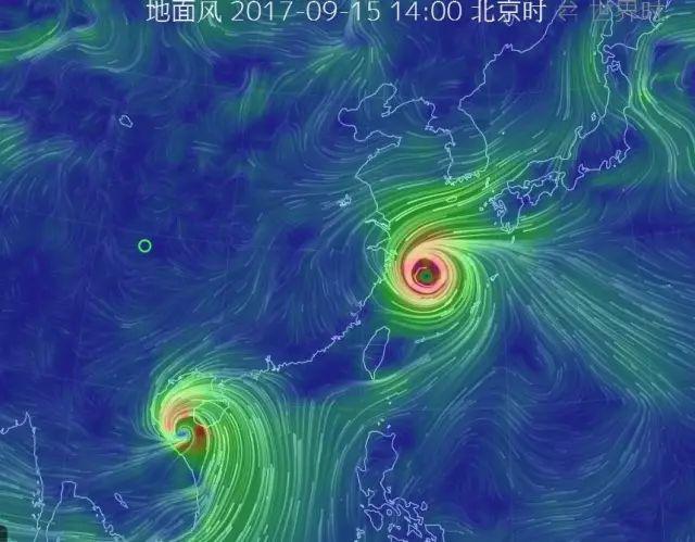 """""""最强台风""""风骚走位,一个去了日本,一个去了越南!网友评论笑翻"""