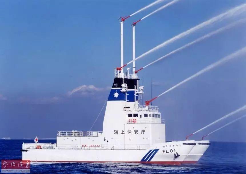 ▲日本海上保安厅的巡查船