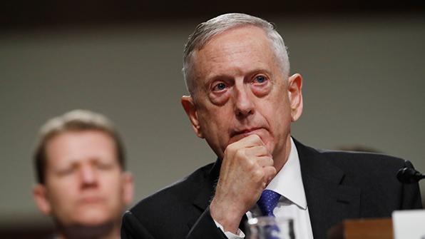 美国防长马蒂斯
