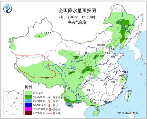 台风仍将影响东海海域 浙江海南部分地区大到暴雨