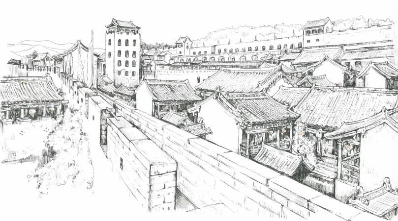 路线:平遥站每天有15班从太原发来的列车,火车站距离古城西门只有500图片