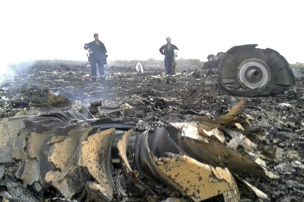 图为MH17空难资料图(图片来源:路透社)
