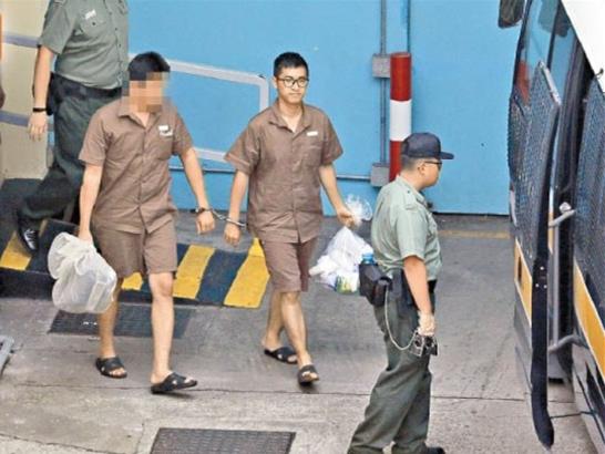 """被港人称为""""双学三丑""""之一的周永康现时在西贡壁屋监狱服刑。(来源:香港东网)"""