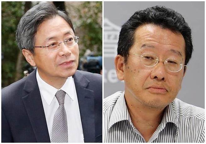 张善政和顾立雄(来源:中时电子报)