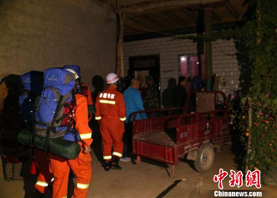 图为震区的抗震安居房。 阿克苏地域消防支队供给 摄