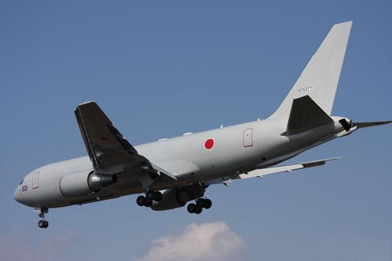资料图:日本KC-767空中加油机