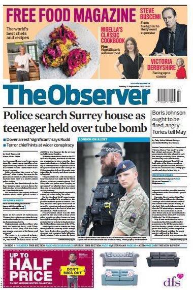 英媒:伦敦地铁爆炸案被捕嫌犯可能是难民