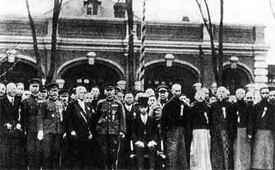 """1932年3月9日,""""伪满洲国""""在长春成立。"""