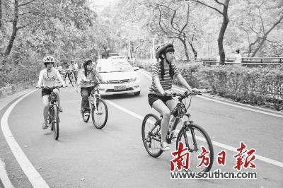 打通城市慢行系统 营造惠州绿色生活