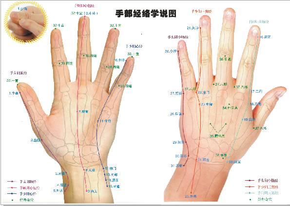 刮手指老中医养生法,动图示范,99%的人不知道!