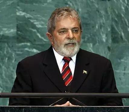 ▲资料图片:2009年9月23日,在纽约联合国总部,时任巴西总统卢拉在联合国大会一般性辩论中发言。(路透社)