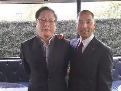 ▲郭文贵(右)。警方供图