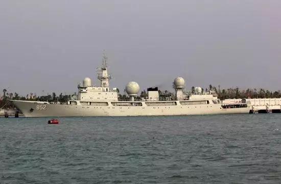 """▲中国水师""""海王星""""号电子侦探船"""