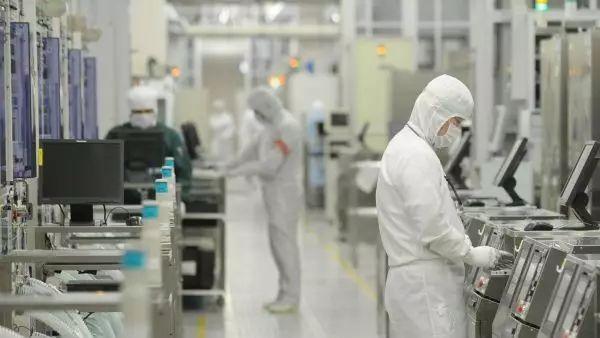 ▲资料图片:一家日本半导体公司的生产流水线