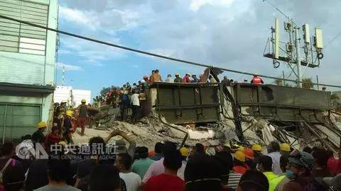 墨西哥大地震致138人罹难 5名台湾同胞受困废墟