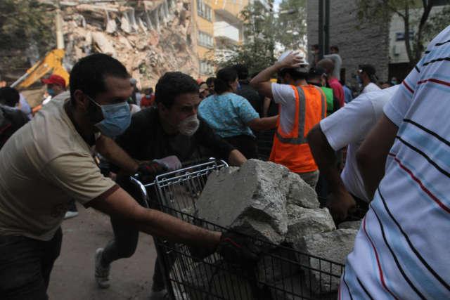 墨西哥中部地震造成至少139人死亡