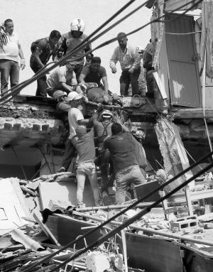 墨西哥7.1级地震 已致248人死亡