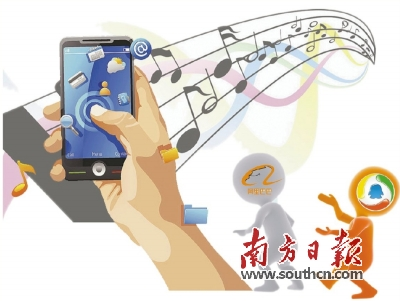 在线音乐市场进入双寡头时代?