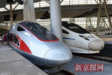 复兴号列车提速至350公里时速 往返京沪将节省时间近30分钟