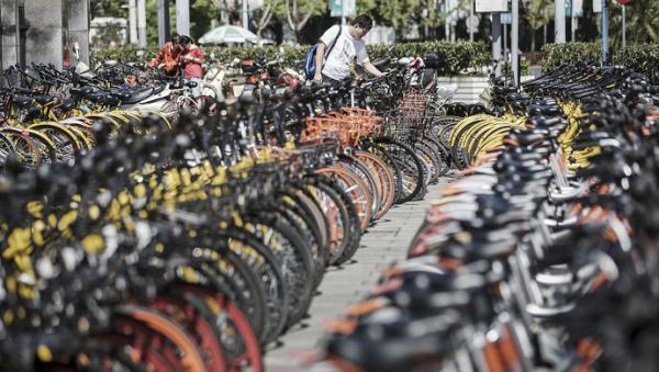 上海人大督办共享单车管理 已整治清理35万辆