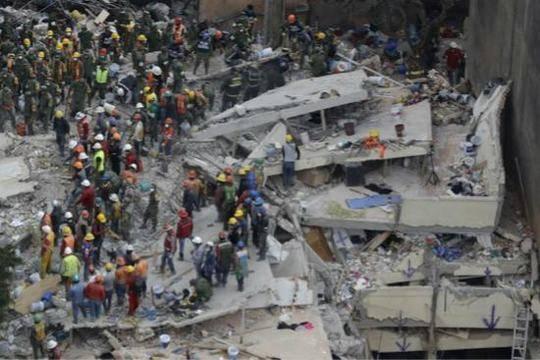 墨西哥地震1名受困台胞获救 其余4人仍未有消