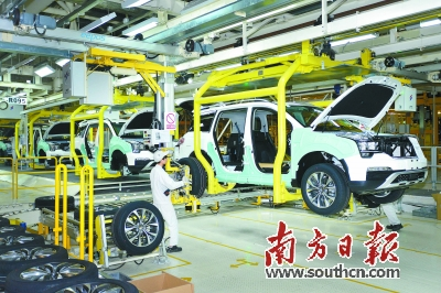 国内汽车零部件的关键领域仍然是以外资零部件为主,特别是在电气化、高精密零部件领域更为突出。肖雄摄