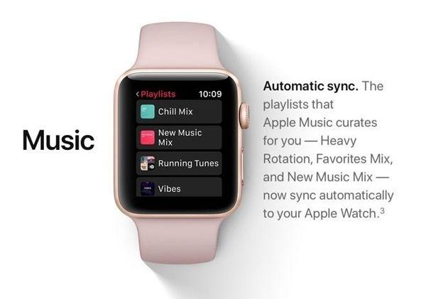 watchOS4居然不允许用户浏览iPhone音乐库?