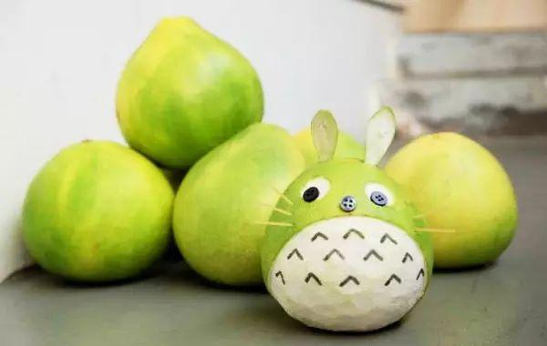 幼儿手工制作水果柚子步骤图
