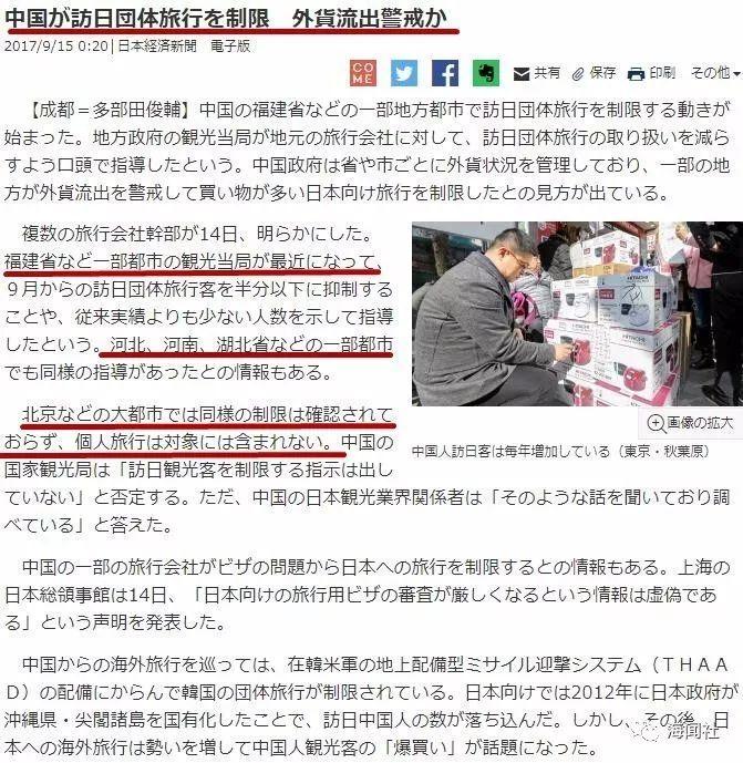 《日本经济新闻》报道的内容