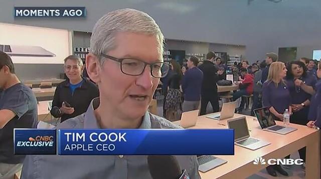 库克:iPhone8/8P卖得很好 手表问题不大