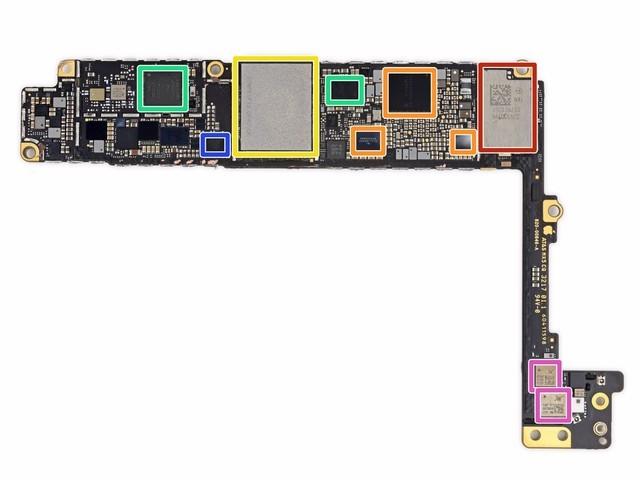 苹果iphone8plus拆解:后盖玻璃破裂_手机拆装工具