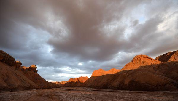 位于青海省海西蒙古族藏族自治州红崖地域的模拟火星基地。 新华社记者 吴刚 摄