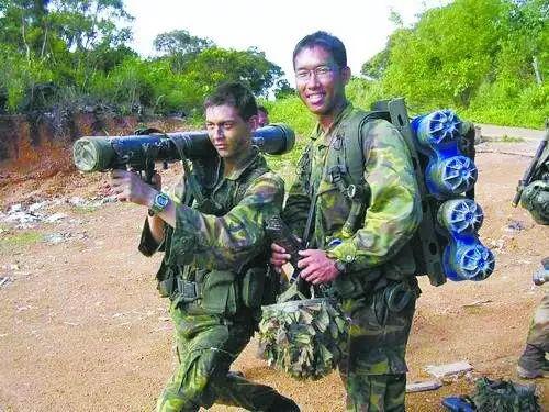 """▲在台受训的新加坡""""星光队伍"""""""