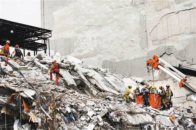 墨西哥地震中3名台湾同胞罹难2人下落不明