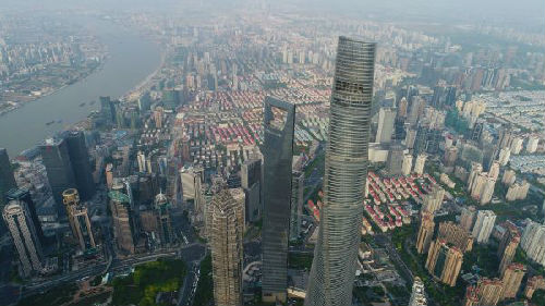资料图片:上海陆家嘴金融贸易区。新华社记者 丁汀 摄