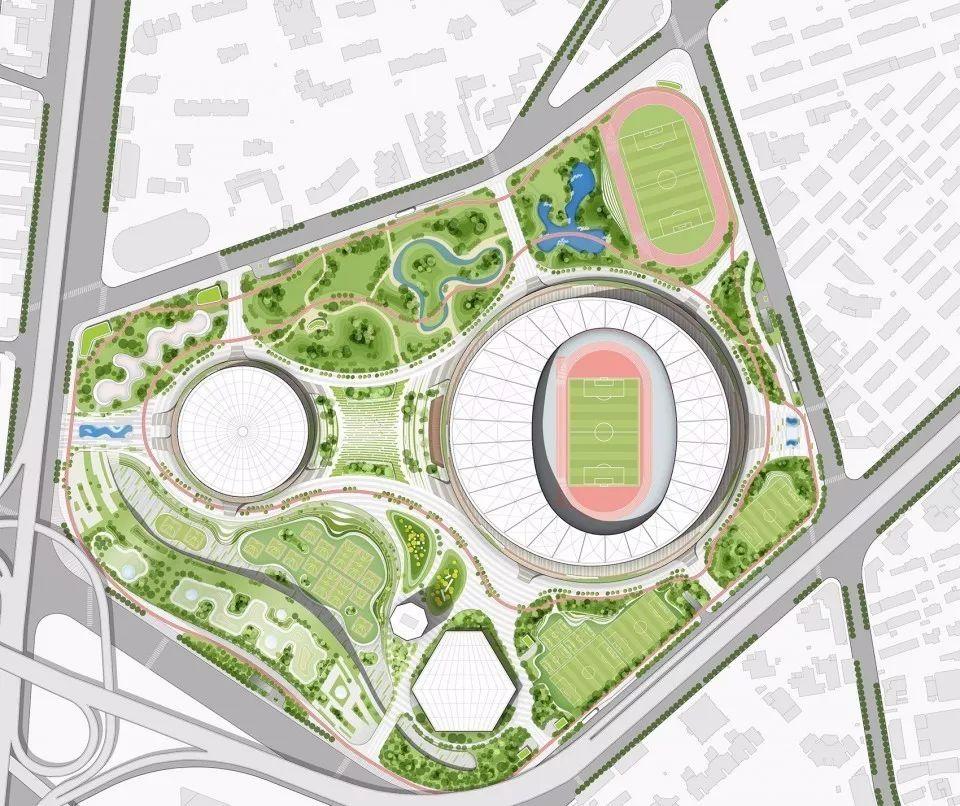【上海文体设施新风景】徐家汇体育公园:世界