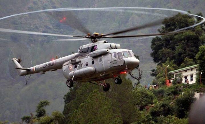 ▲米-17V5直升机(《印度快报》)