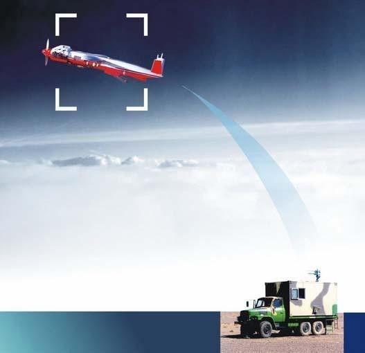 ▲资料图片:ASN-102无人靶机工作状态示意图(爱生公司网站)