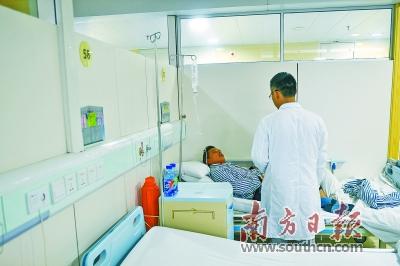 惠州加强了对静脉输液的管理.南方日报记者王昌辉摄