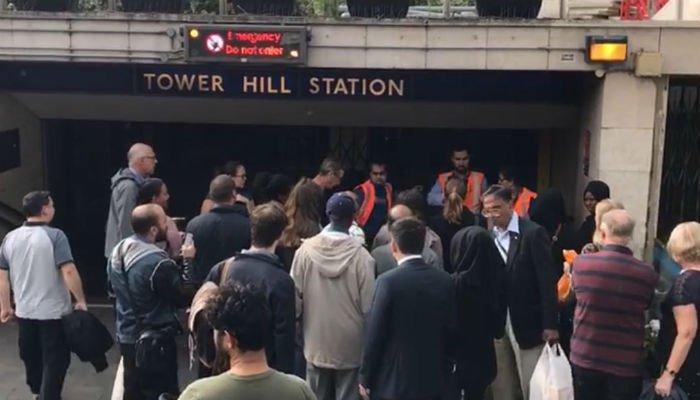 伦敦一地铁站列车上再发生爆炸 有5人受伤(图)