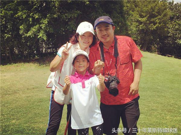刘国梁带女儿拿高尔夫冠军  他仍在为国培养人才